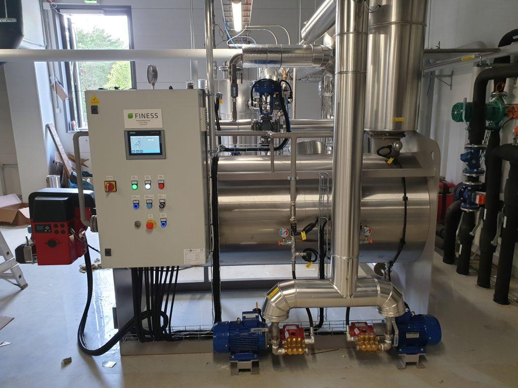 Caldaie Melgarin valmistamat höyry-, vesi- ja kuumaöljykattilat Finess Energy Oy:ltä