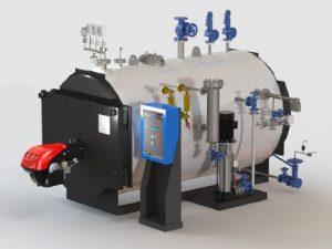 Caldaie Melgari MVI -höyrykattilat myy Finess Energy Oy